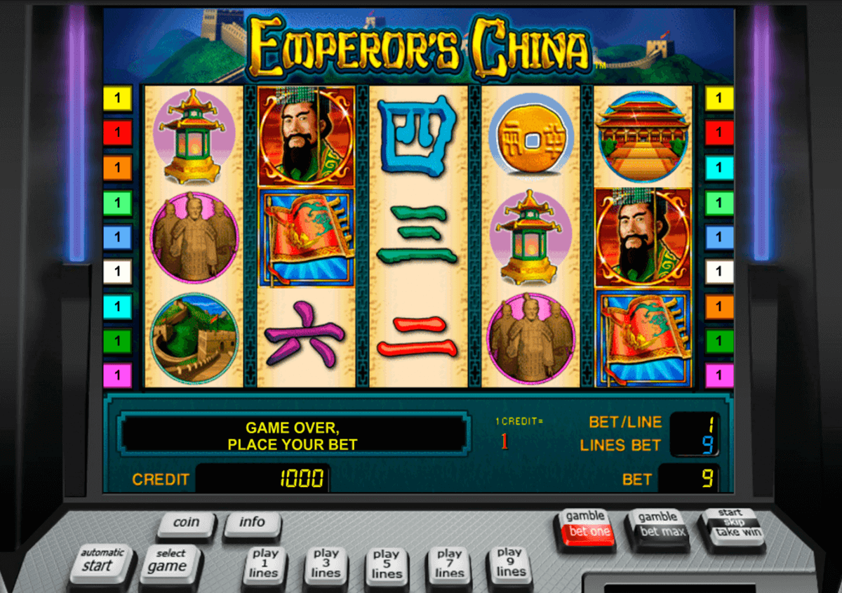 emperors china novomatic casino slot spel