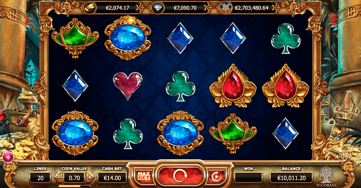 empire fortune yggdrasil casino slot spel