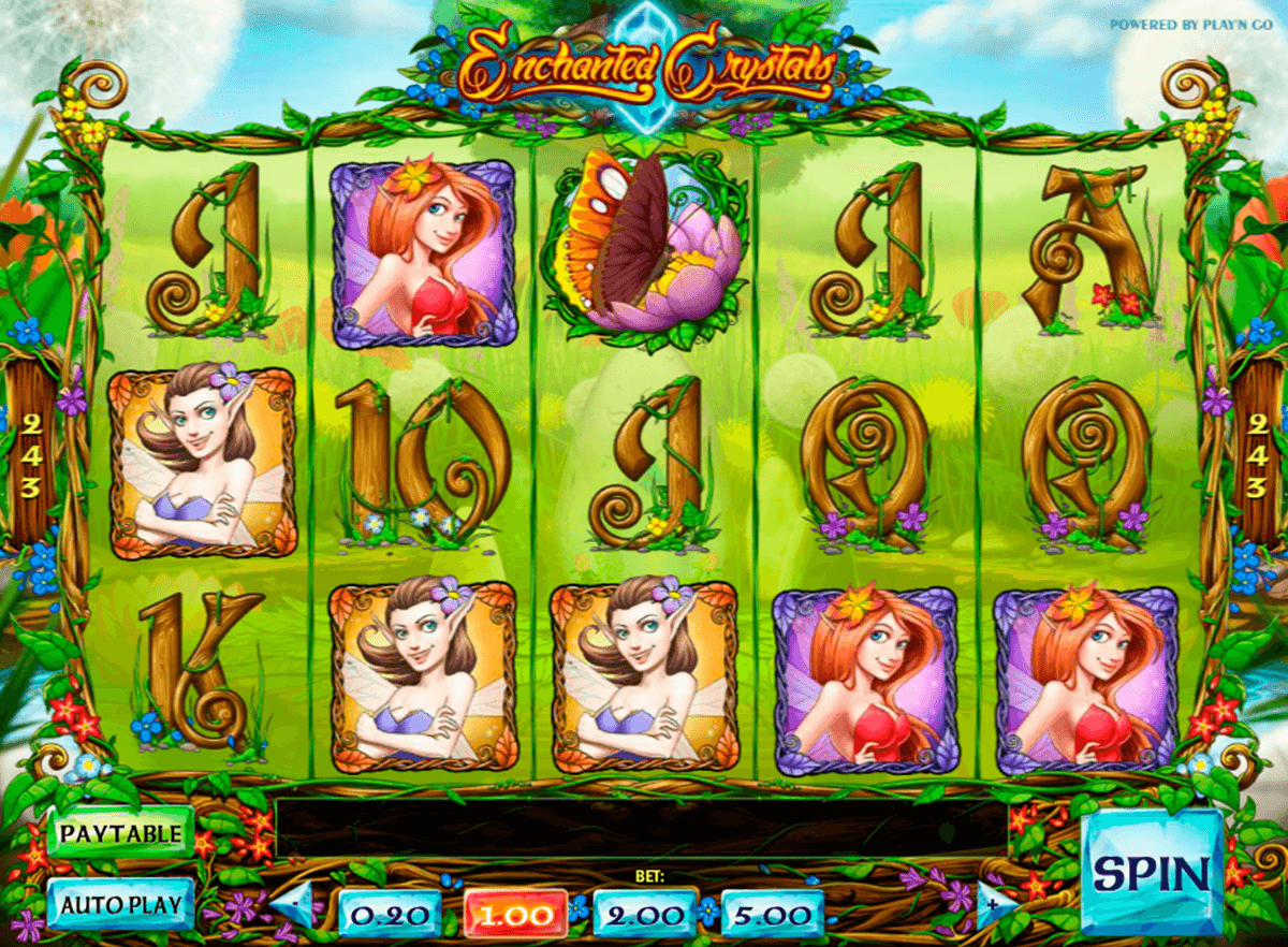 enchanted crystals playn go casino slot spel