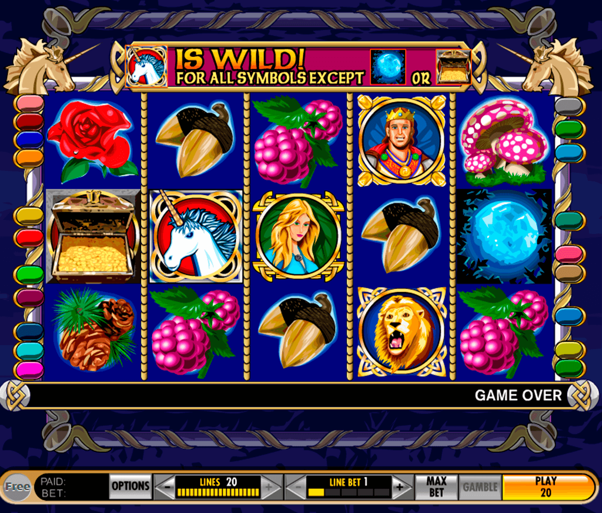 enchanted unicorn igt casino slot spel