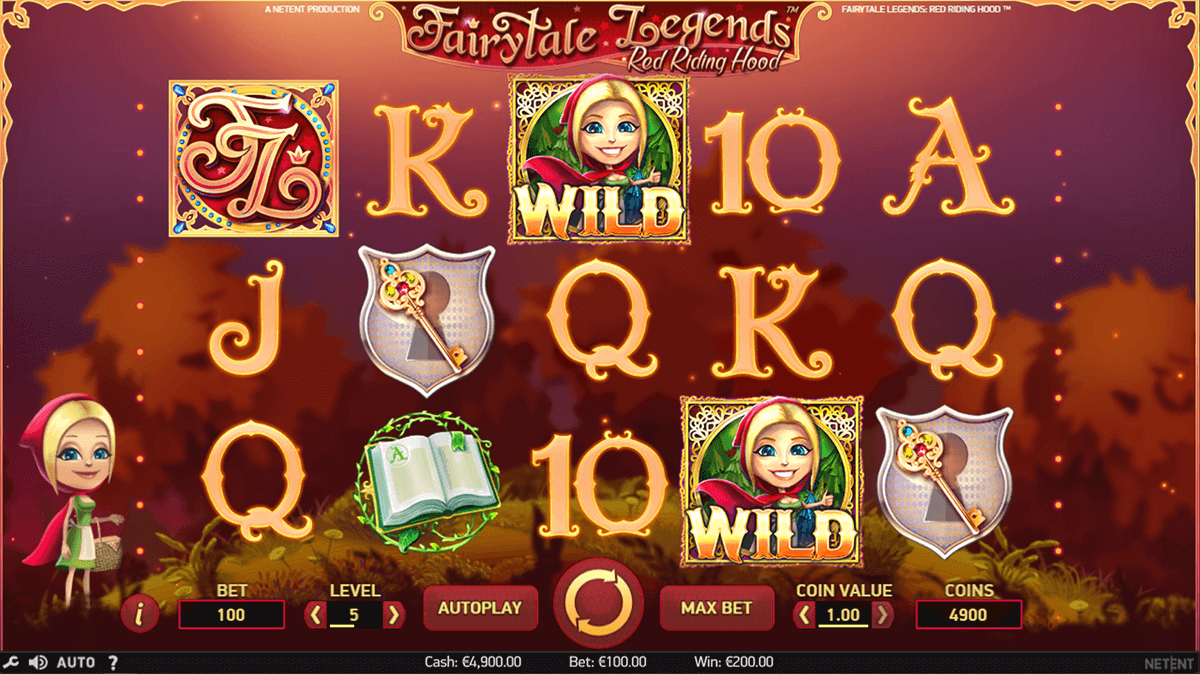 fairytale legends red riding hood netent casino slot spel