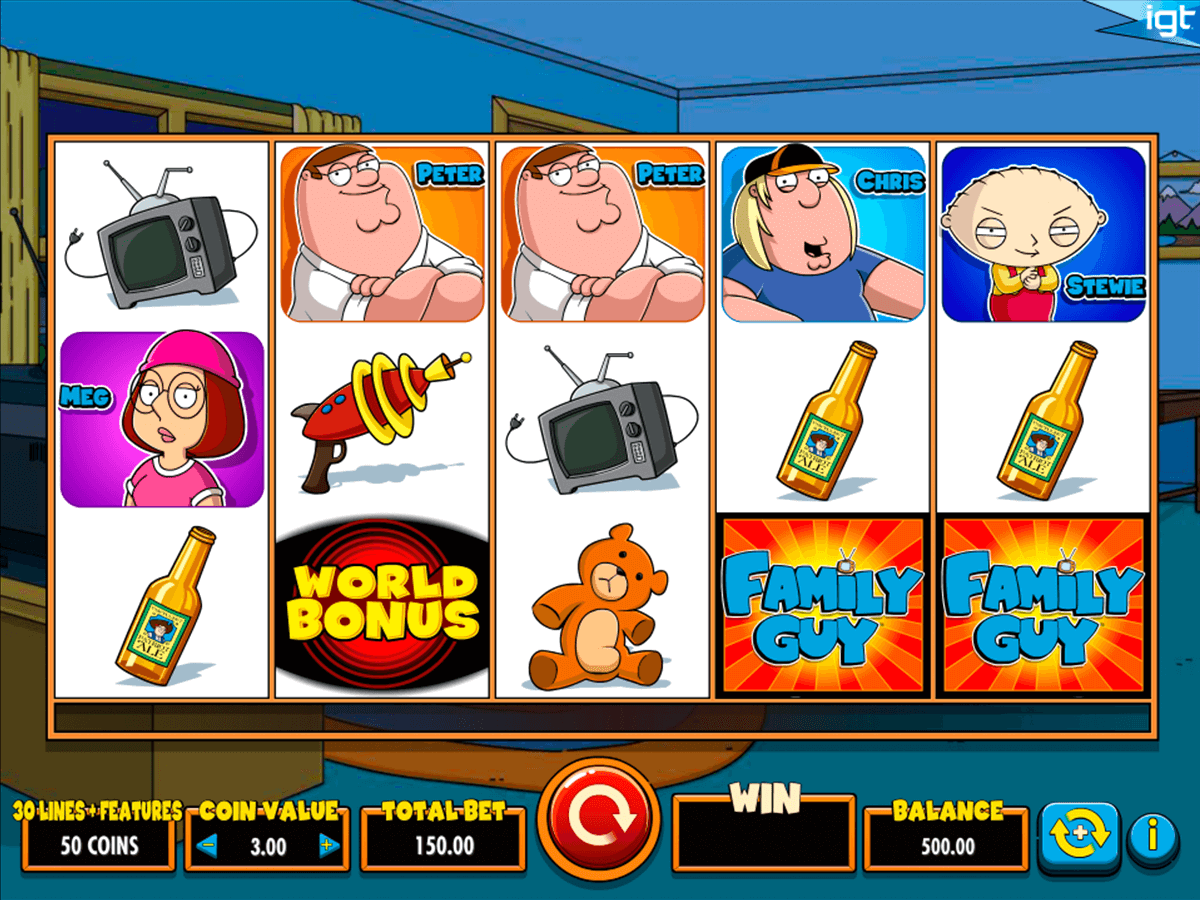 family guy igt casino slot spel