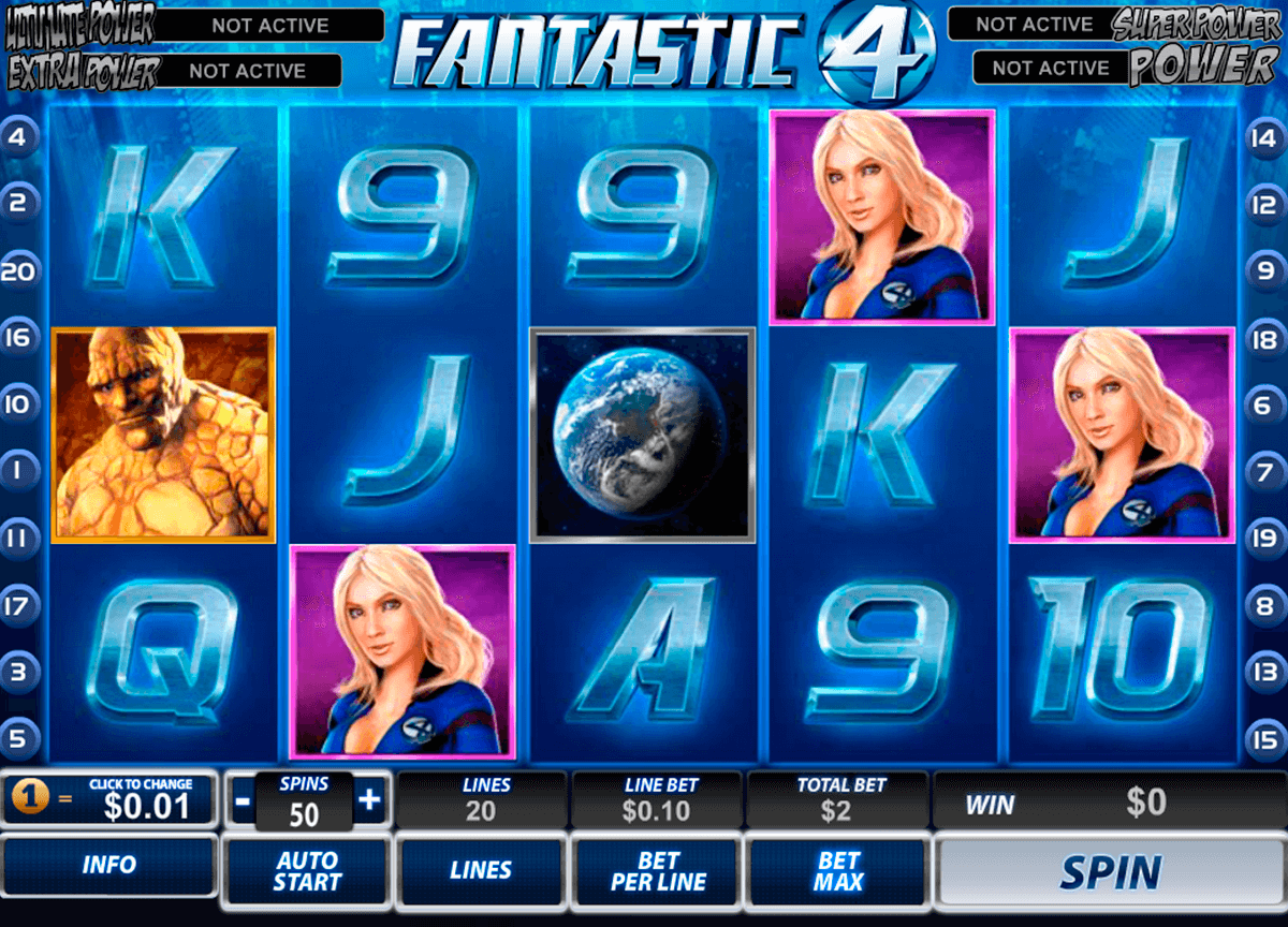 fantastic four playtech casino slot spel