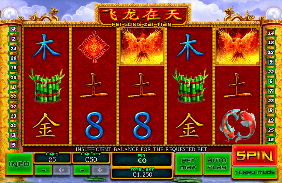 fei long zai tian playtech casino slot spel