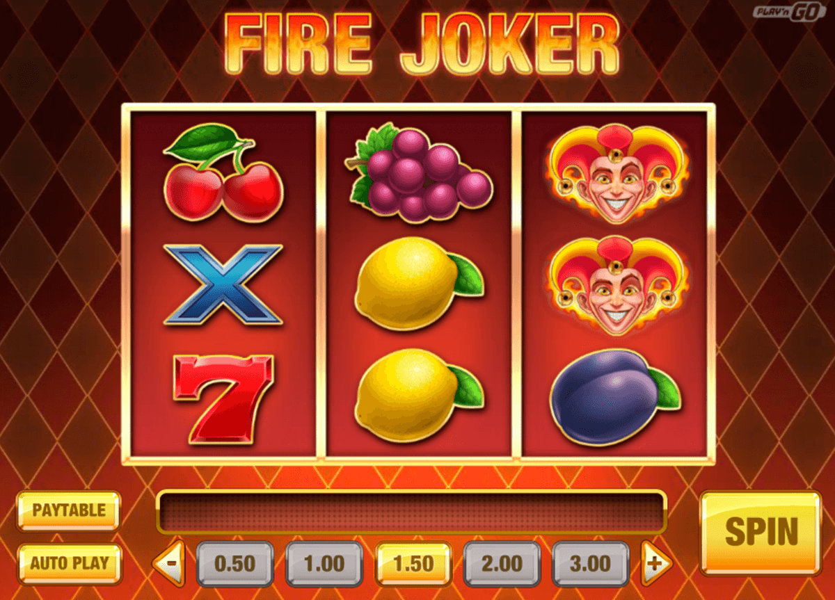 fire joker playn go casino slot spel