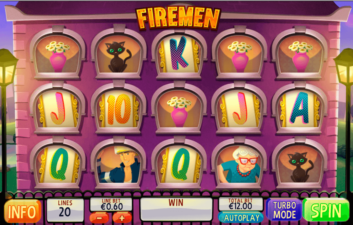 firemen playtech casino slot spel
