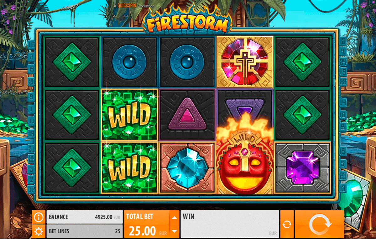 firestorm quickspin casino slot spel