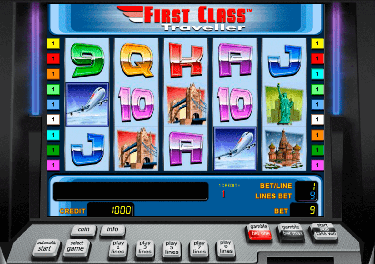 first class traveller novomatic casino slot spel