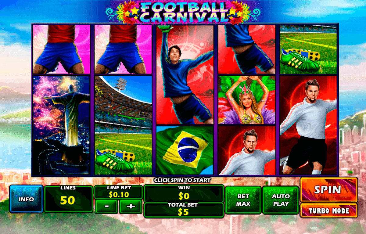 football carnival playtech casino slot spel