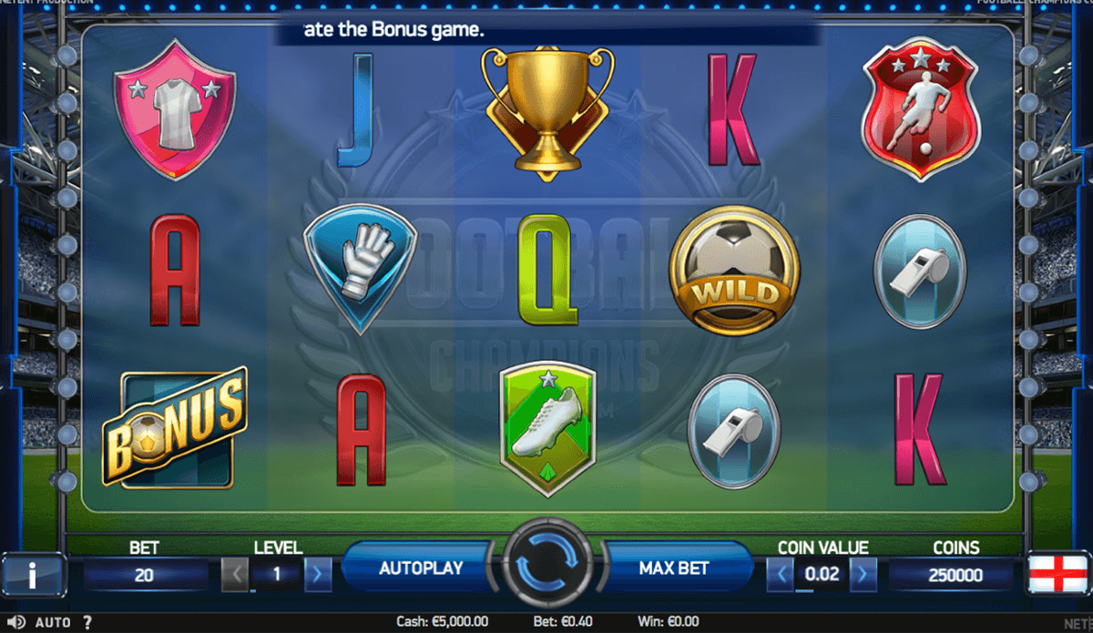 football champions cup netent casino slot spel
