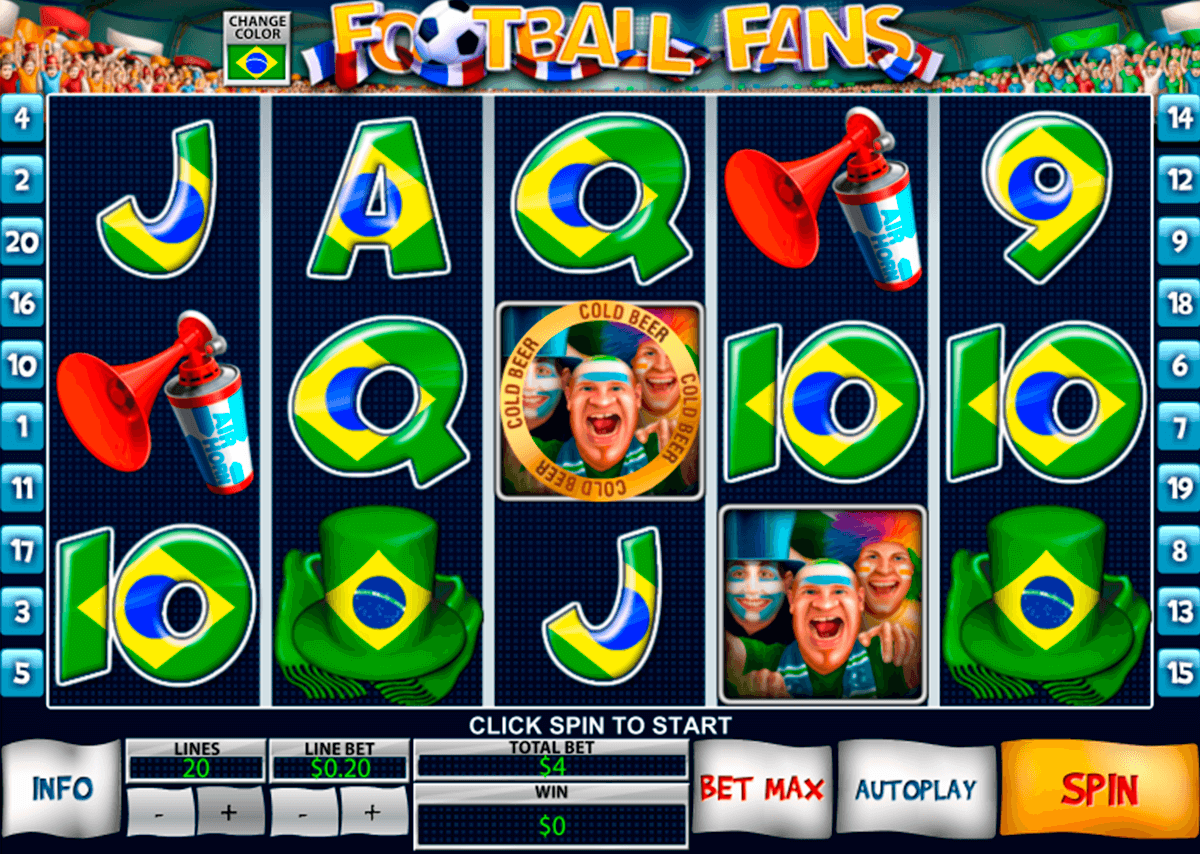 football fans playtech casino slot spel