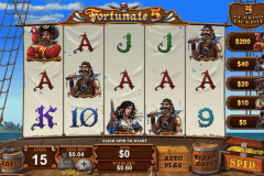 fortunate five playtech casino slot spel