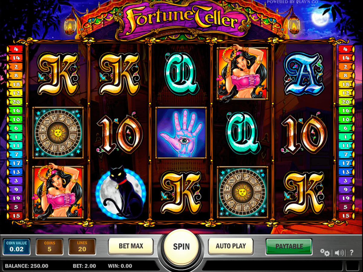 fortune teller playn go casino slot spel