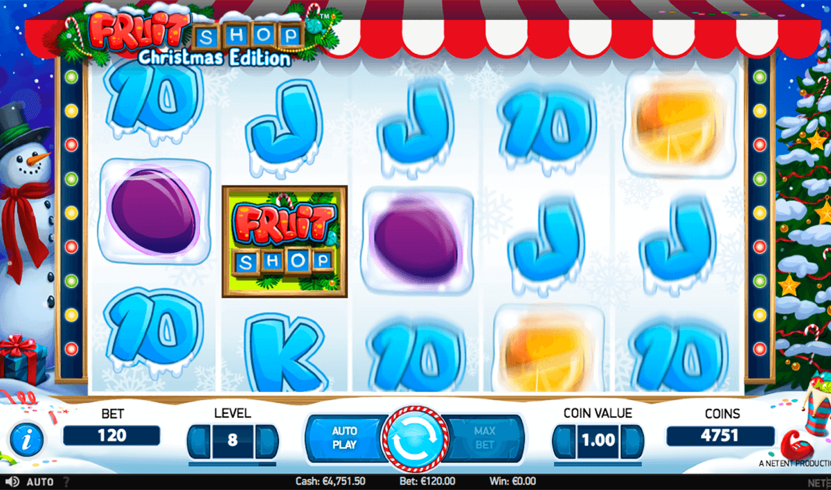 fruit shop christmas edition netent casino slot spel