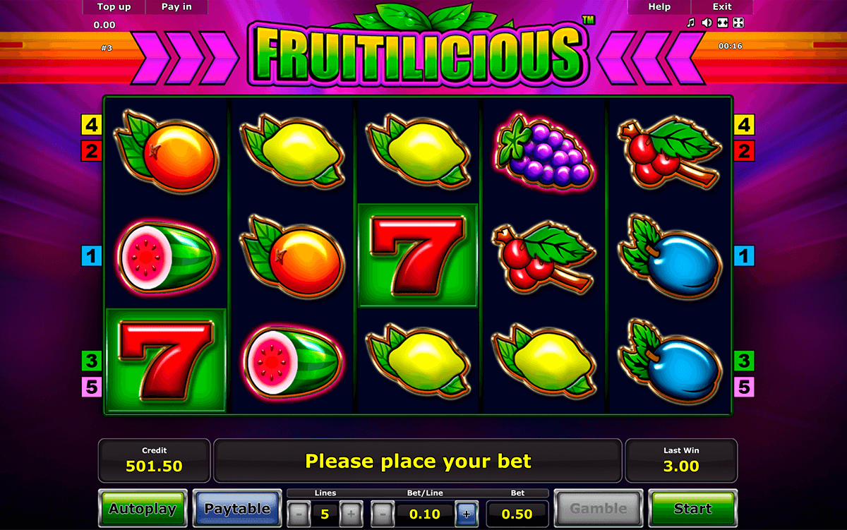 fruitilicious novomatic casino slot spel