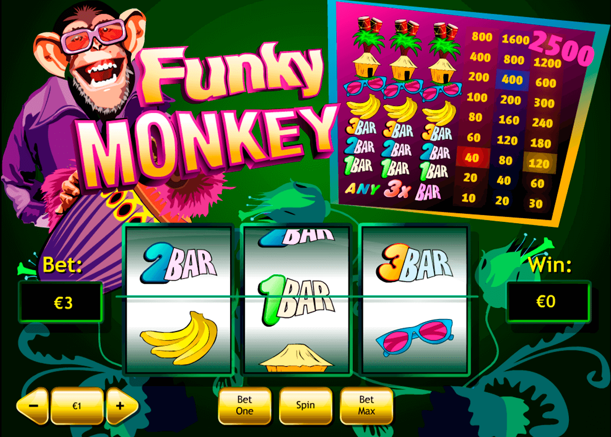 funky monkey playtech casino slot spel