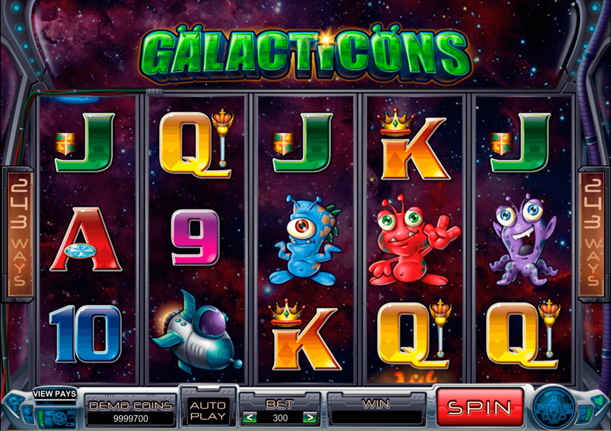galacticons microgaming casino slot spel