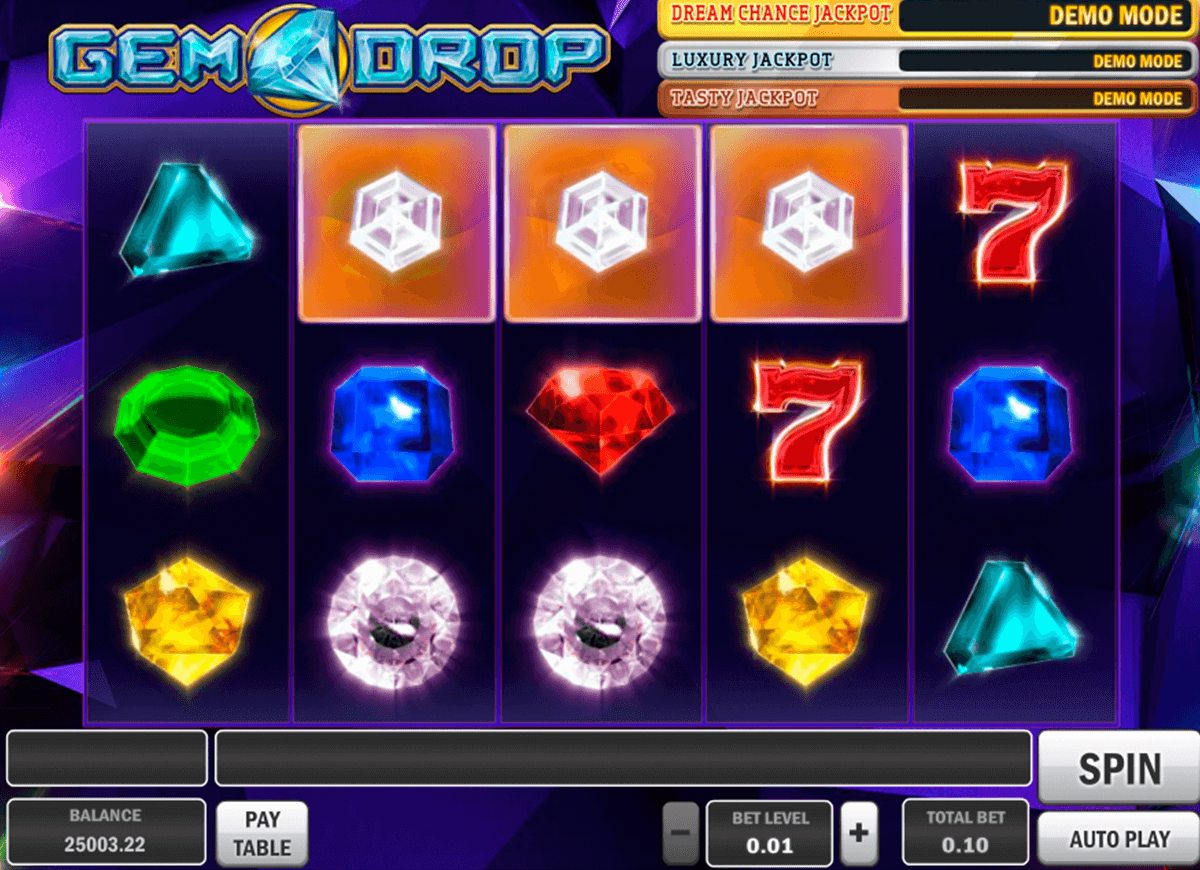 gem drop playn go casino slot spel