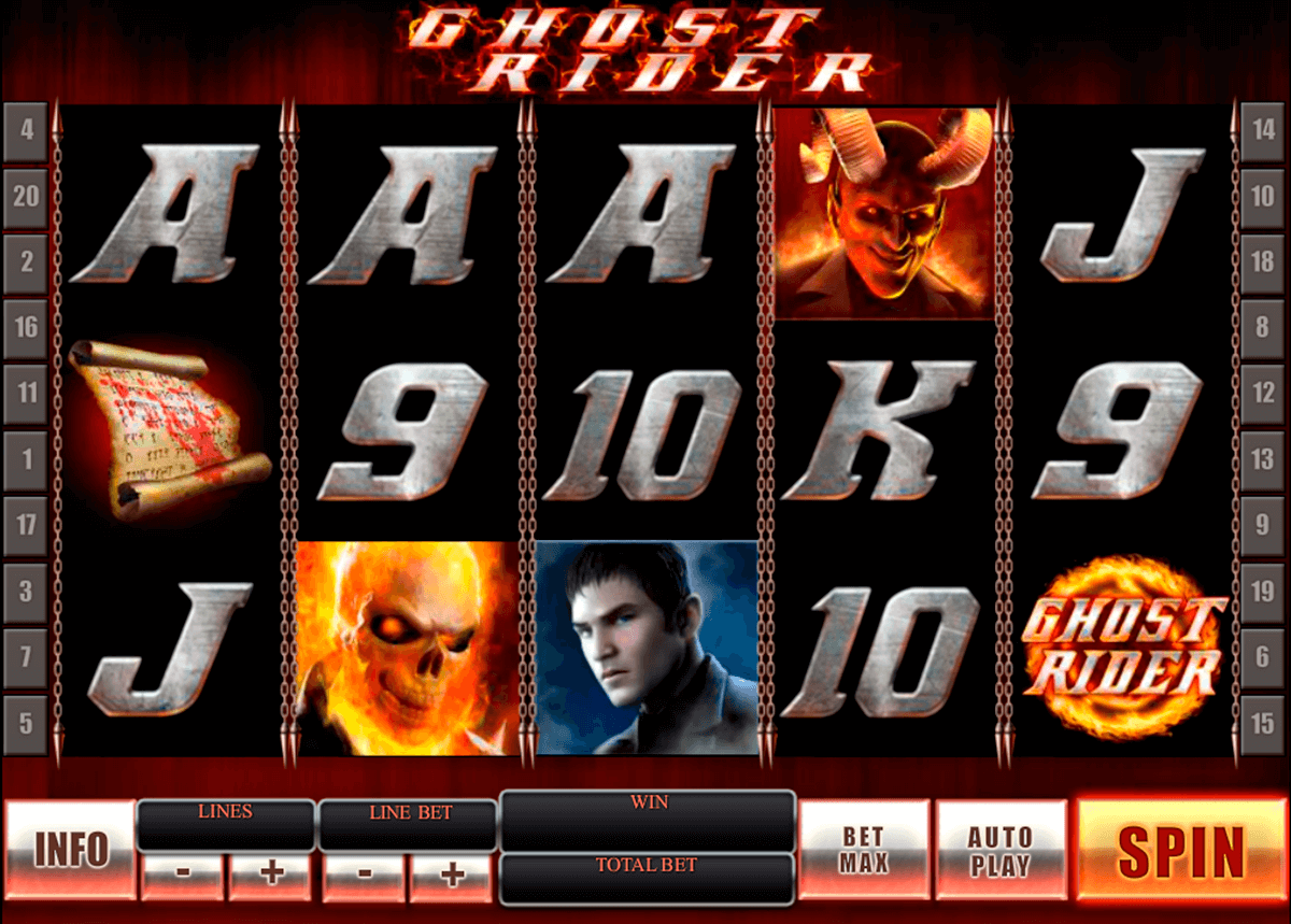 ghost rider playtech casino slot spel