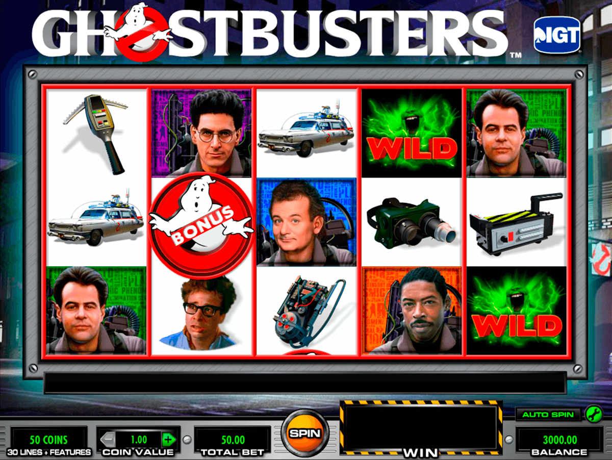 ghostbusters igt casino slot spel