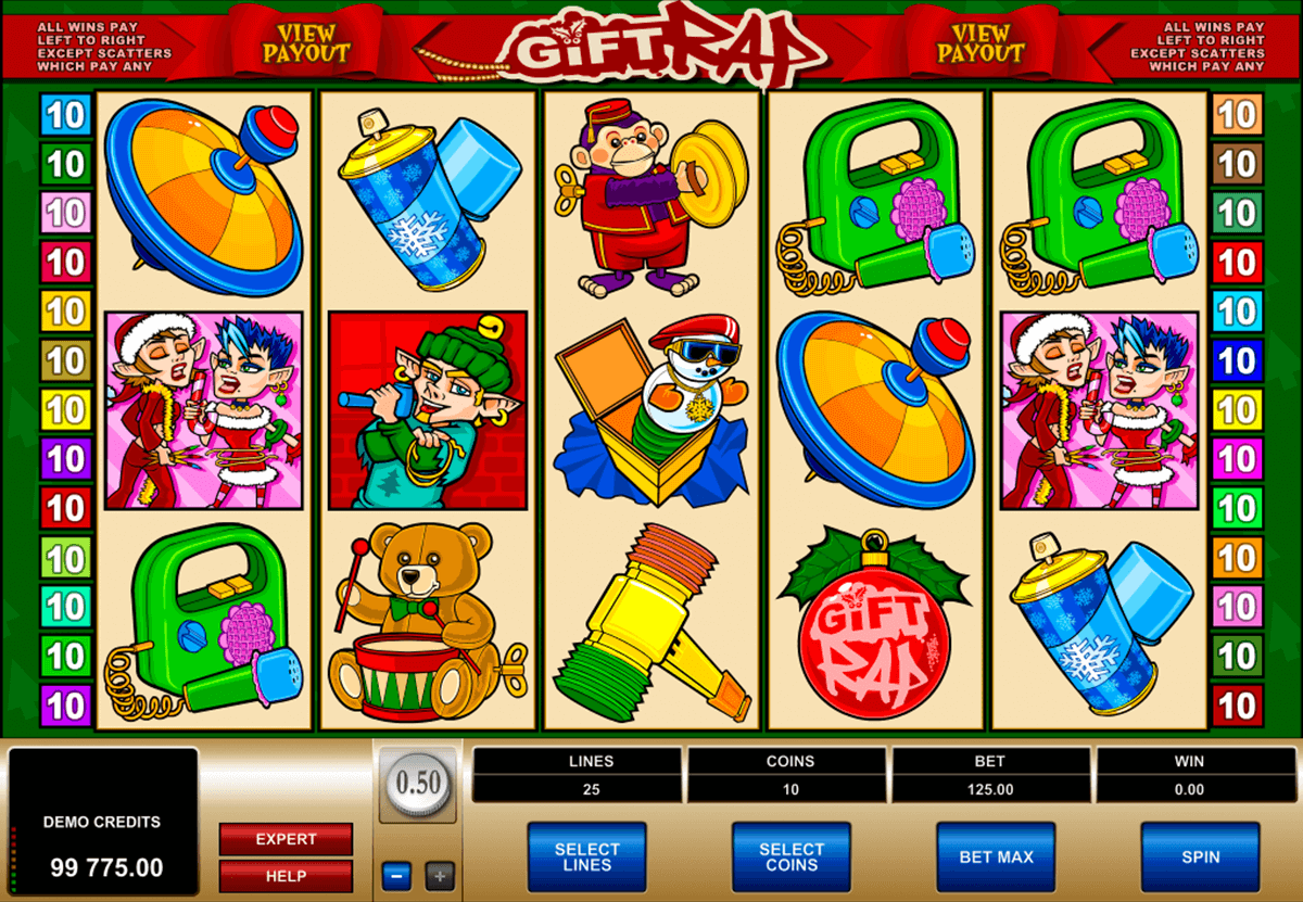 gift rap microgaming casino slot spel