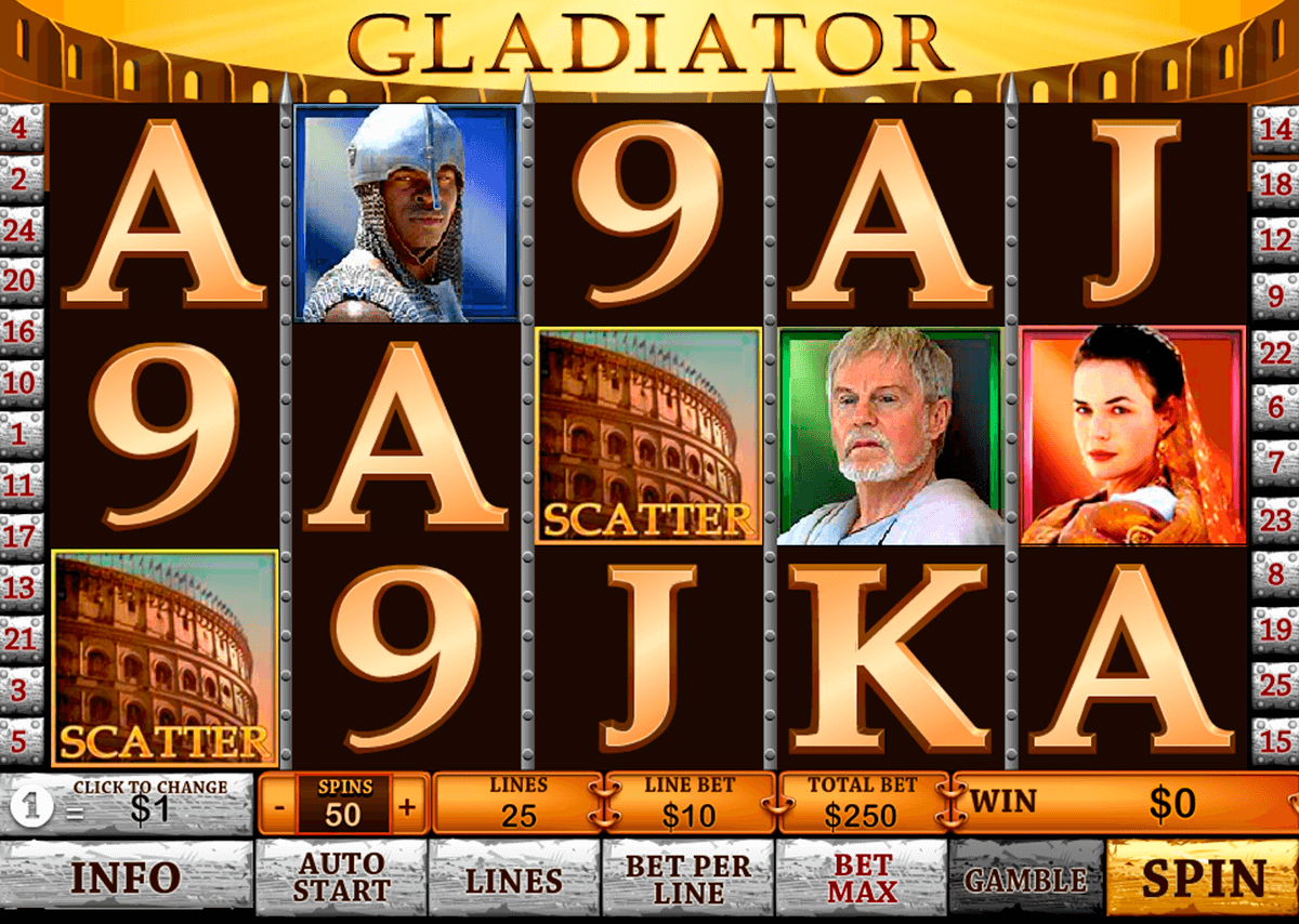 gladiator playtech casino slot spel