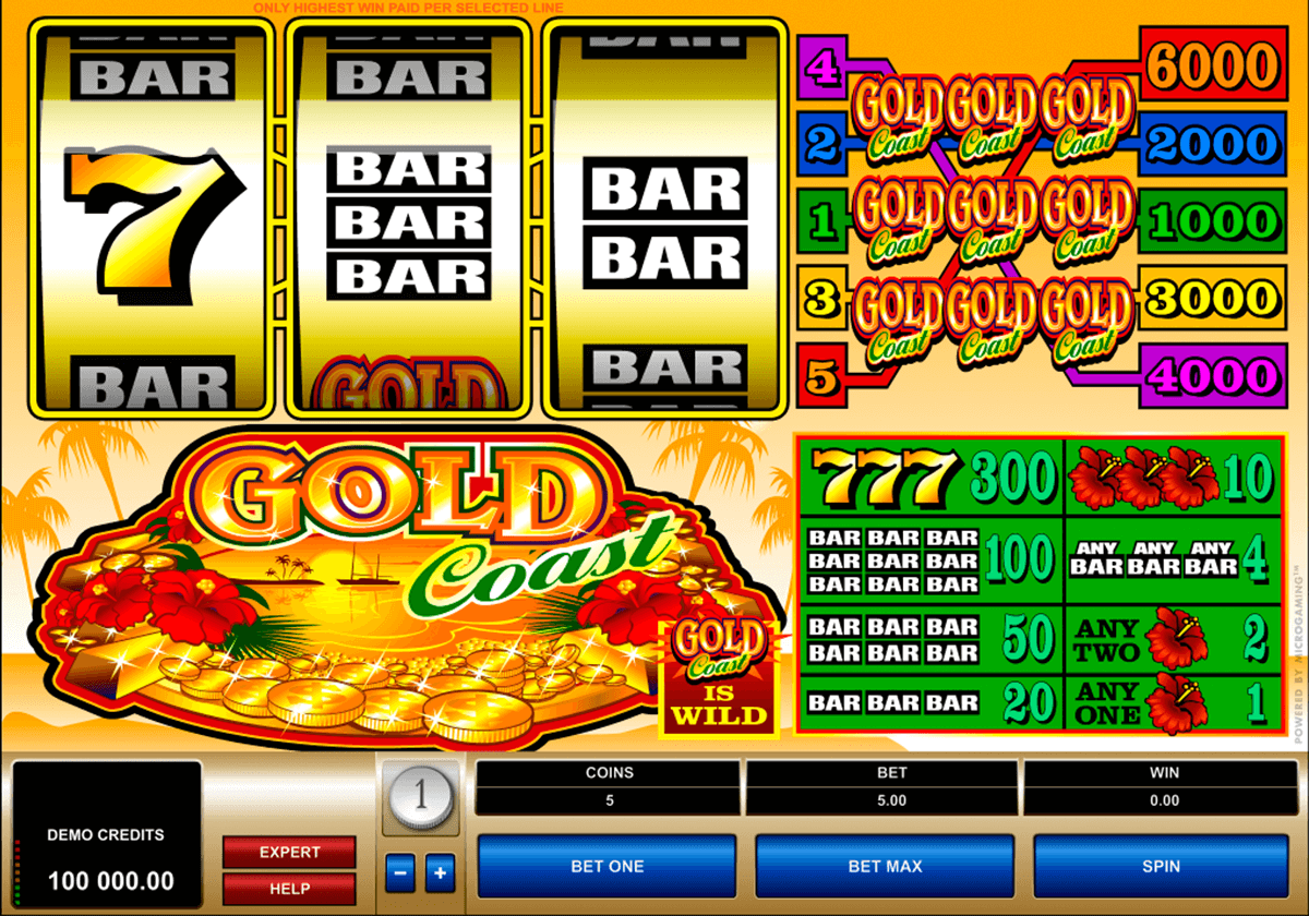 gold coast microgaming casino slot spel