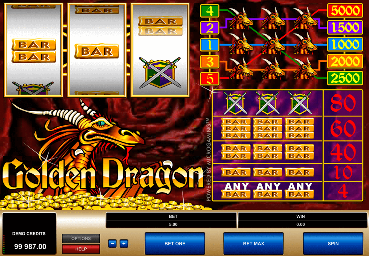 golden dragon microgaming casino slot spel