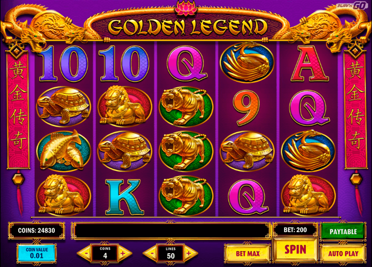 golden legend playn go casino slot spel