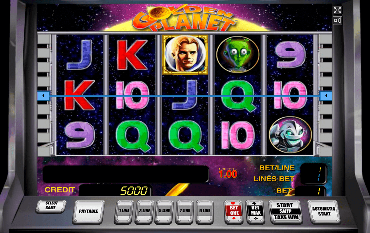 golden planet novomatic casino slot spel