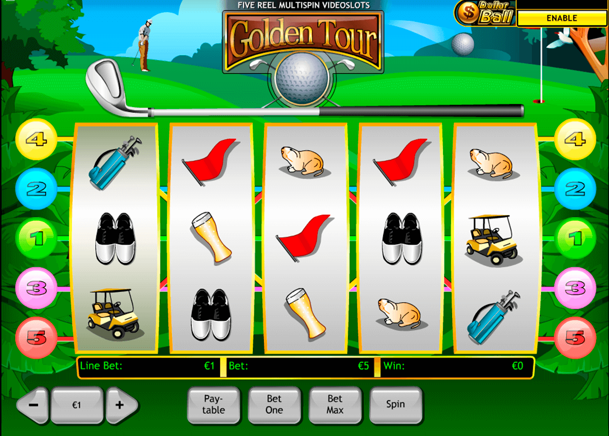 golden tour playtech casino slot spel