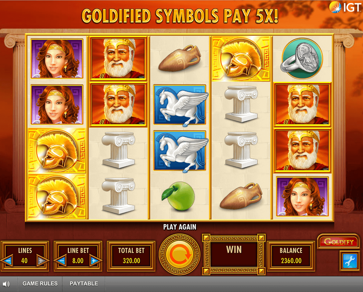 goldify igt casino slot spel