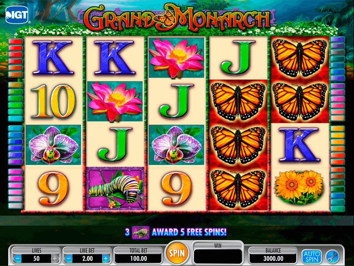 grand monarch igt casino slot spel