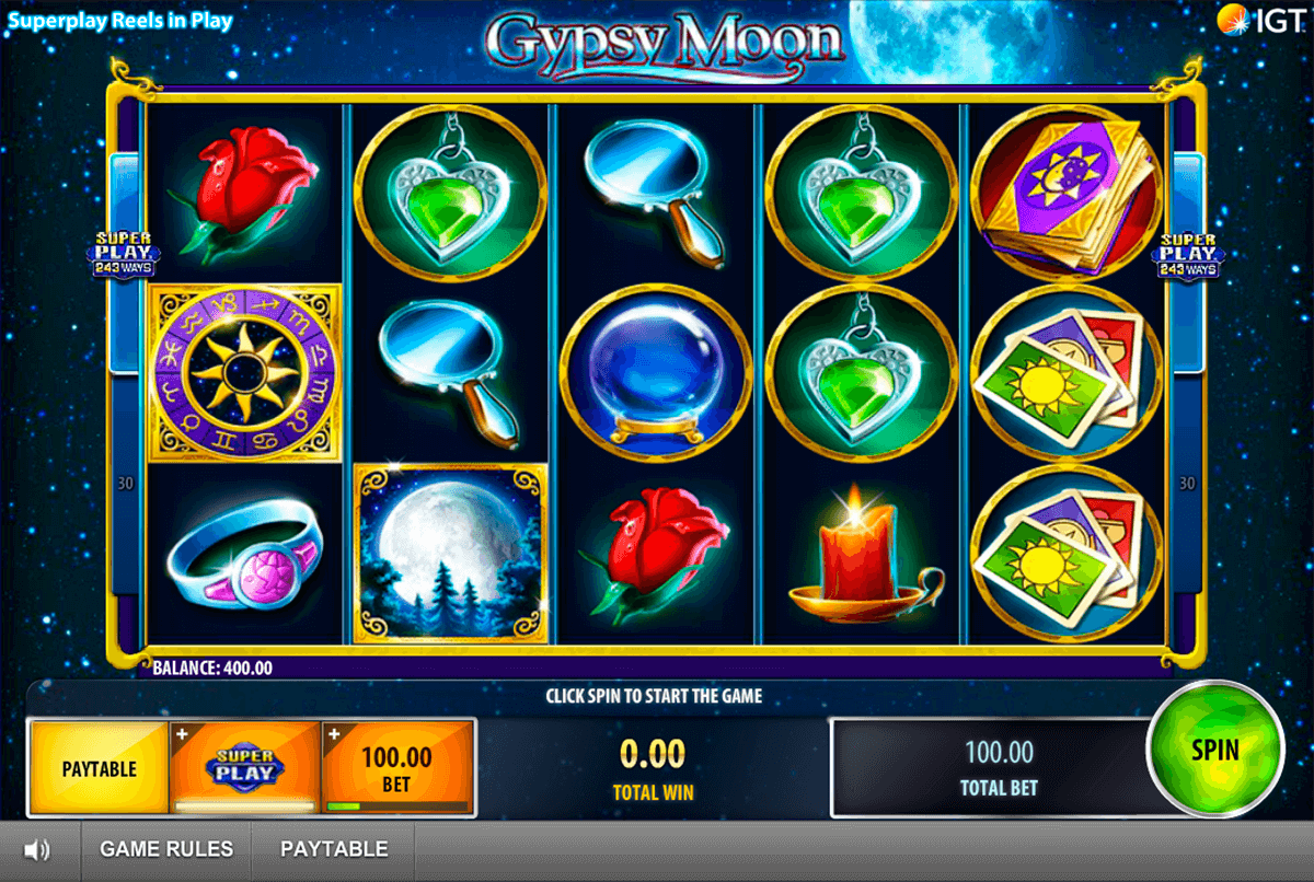 gypsy moon igt casino slot spel
