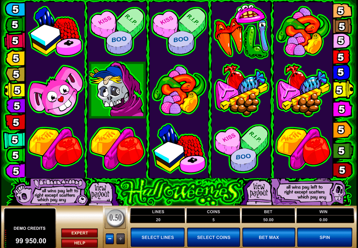 halloweenies microgaming casino slot spel
