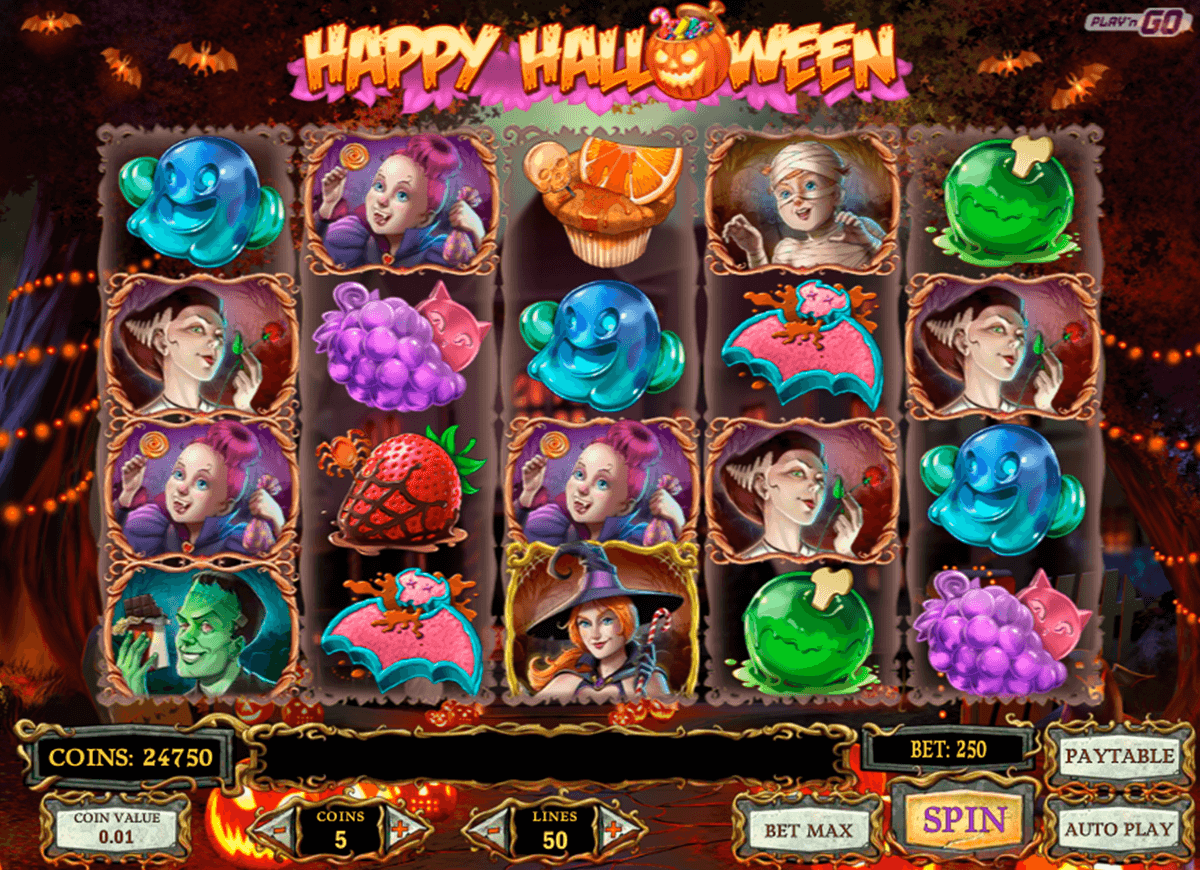happy halloween playn go casino slot spel