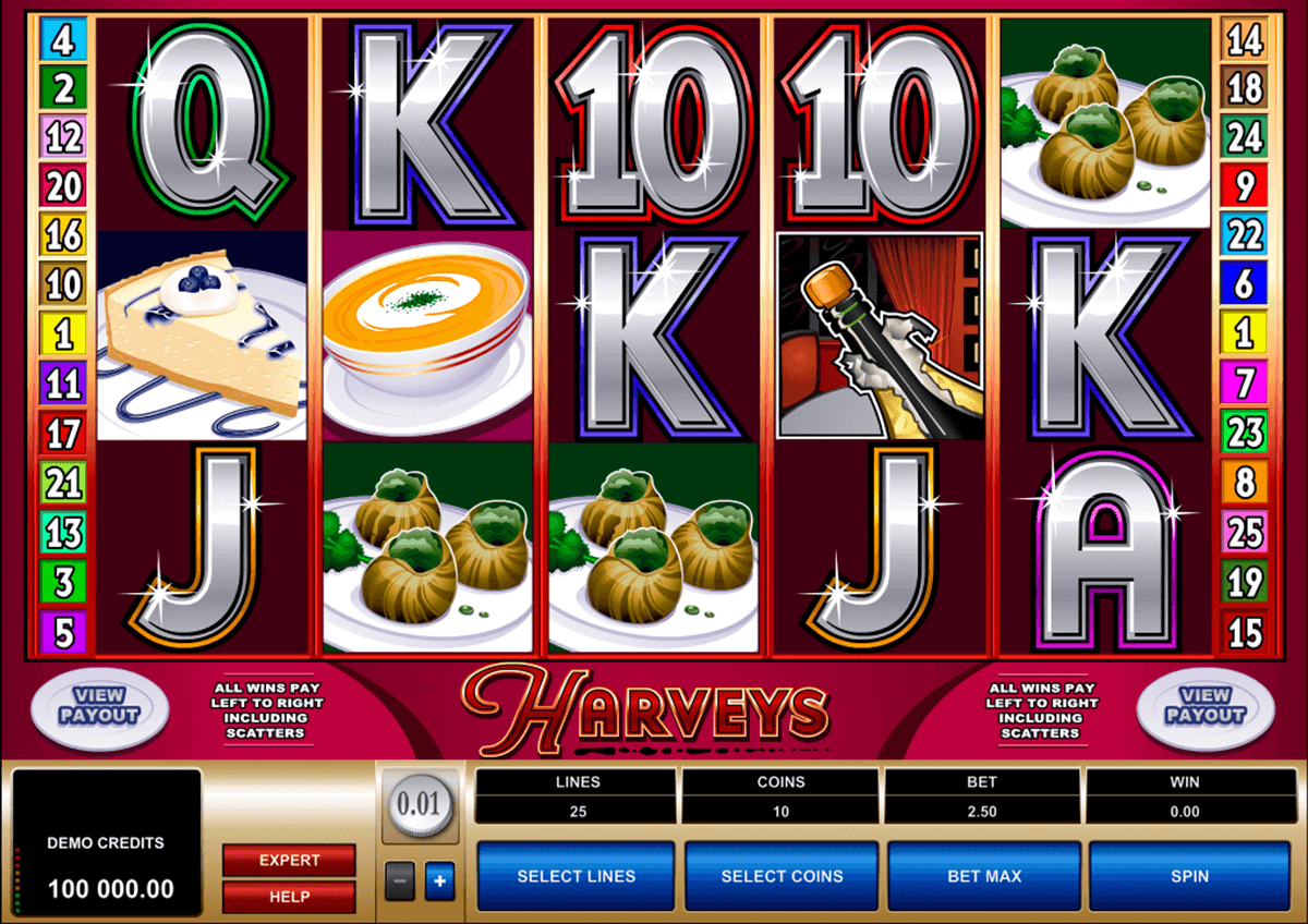 harveys microgaming casino slot spel