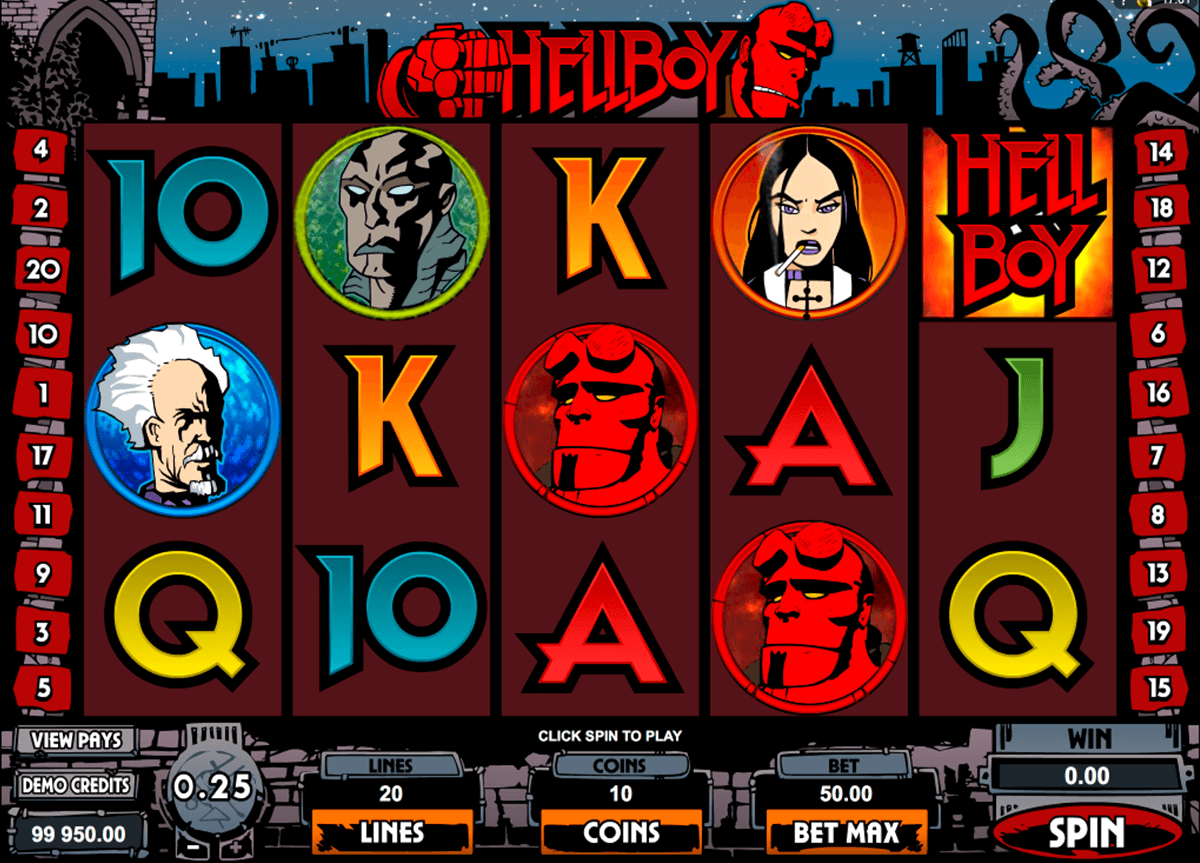 hellboy microgaming casino slot spel