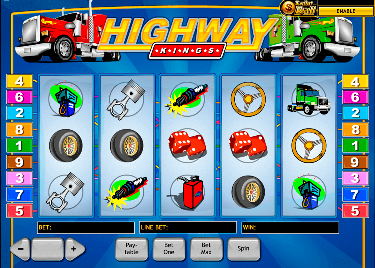 highway kings playtech casino slot spel