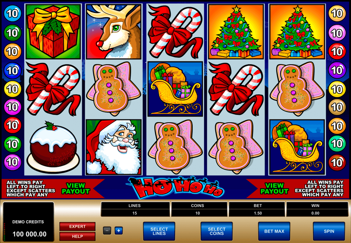 ho ho ho microgaming casino slot spel