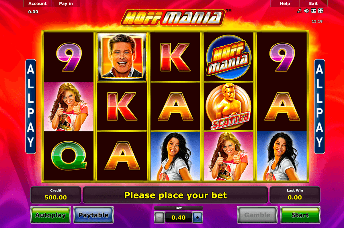 hoffmania novomatic casino slot spel