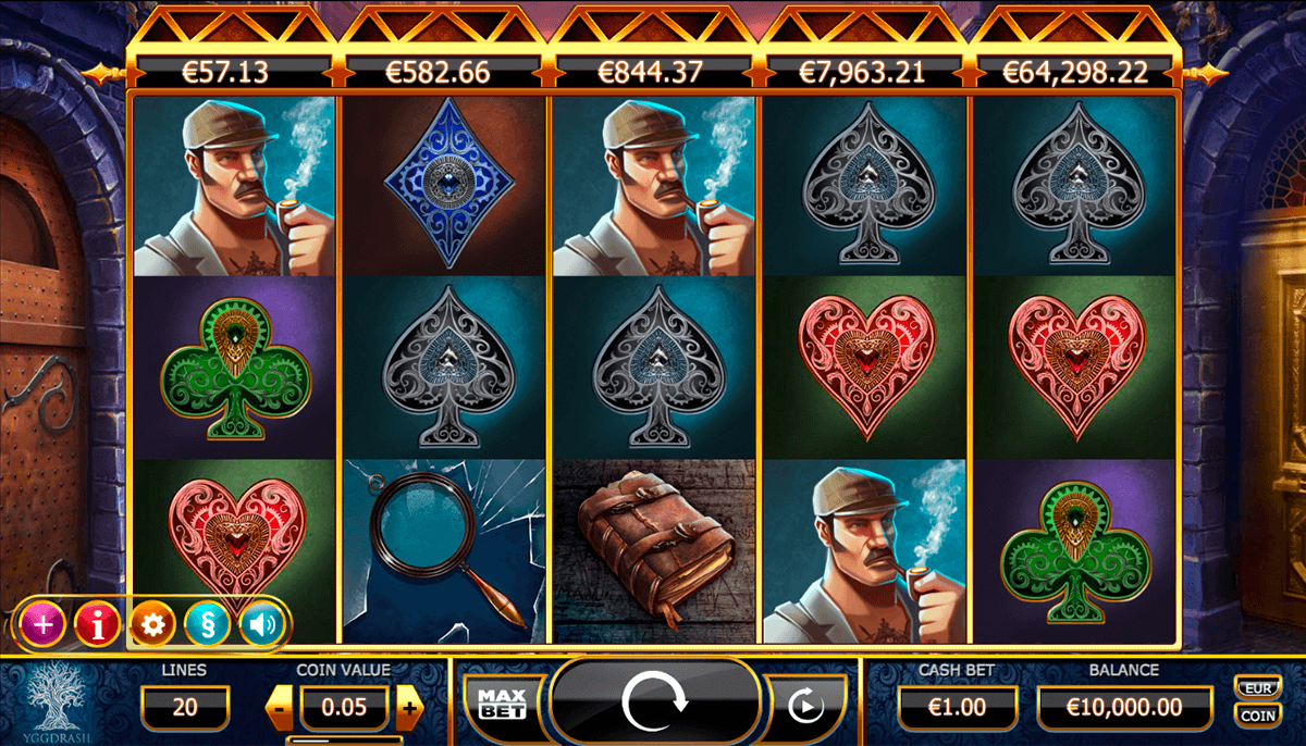 holmes and the stolen stones casino slot spel