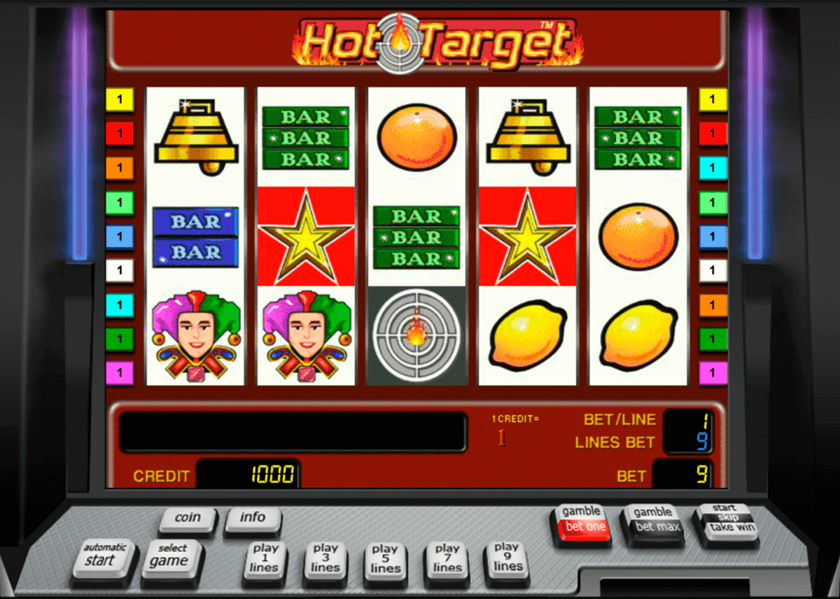 hot target novomatic casino slot spel