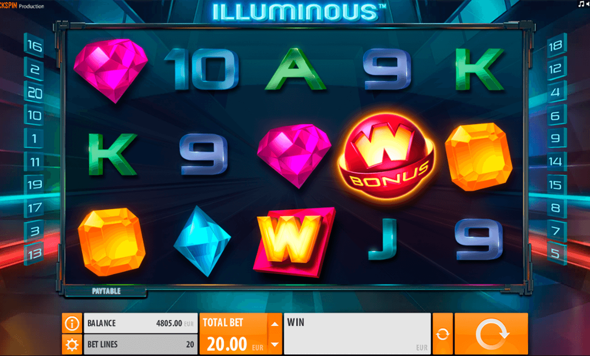 illuminous quickspin casino slot spel