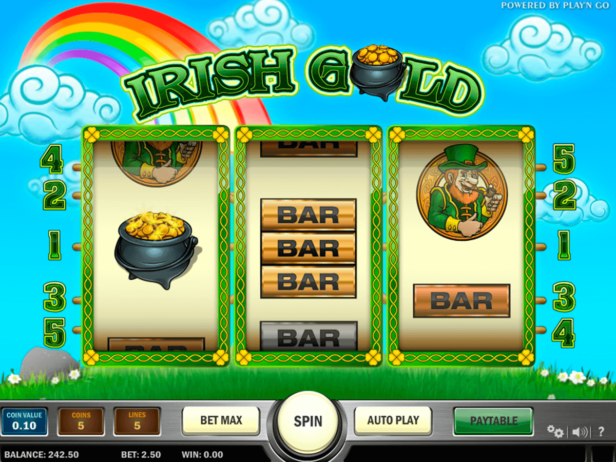 irish gold playn go casino slot spel