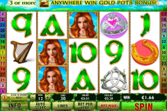 irish luck playtech casino slot spel