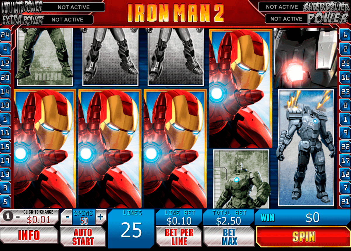 iron man 2 playtech casino slot spel