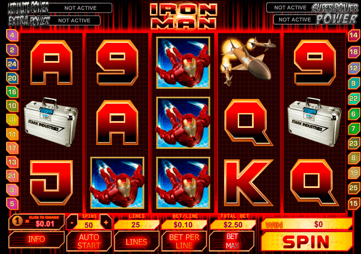 iron man playtech casino slot spel