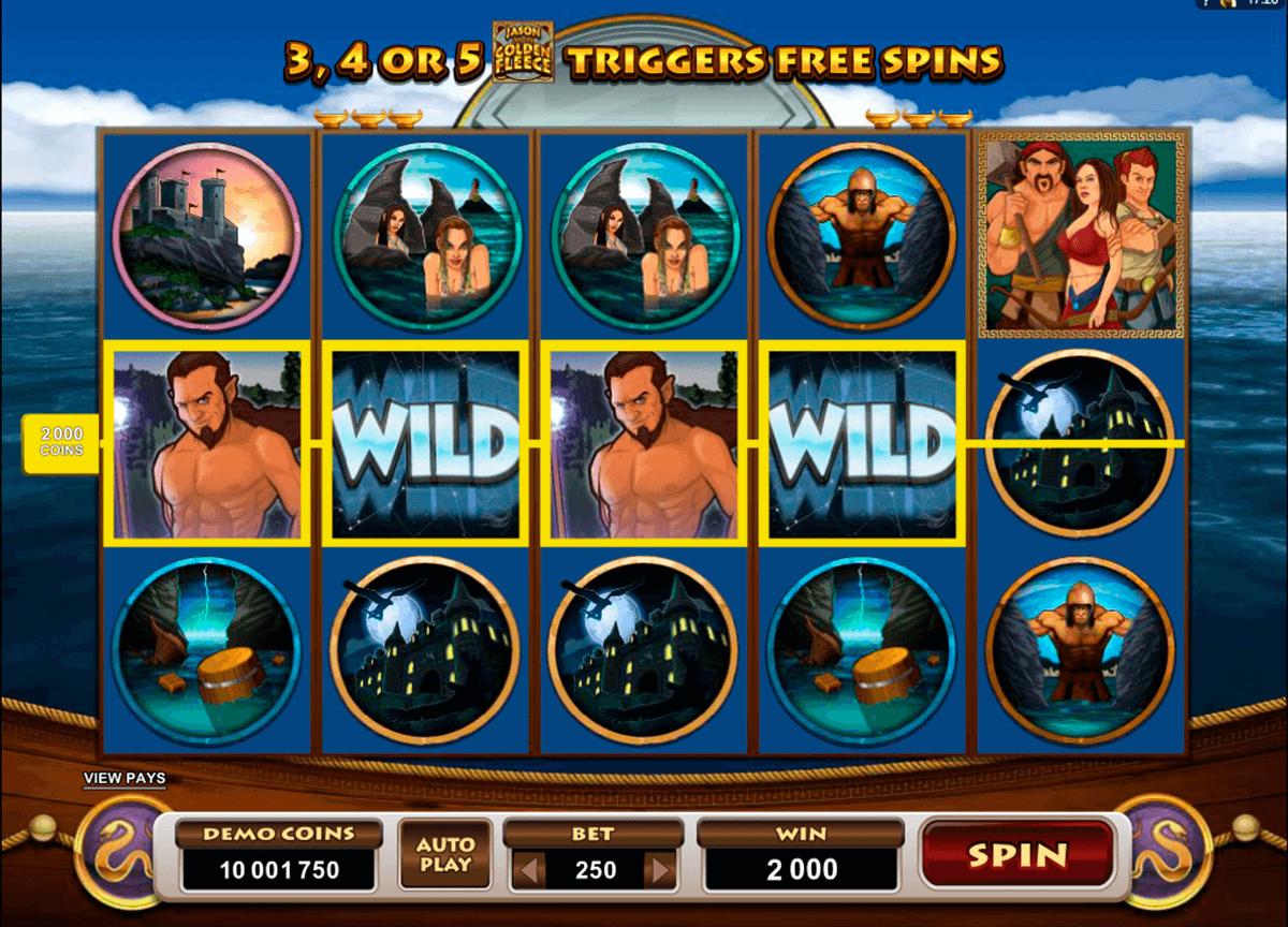 jason and the golden fleece microgaming casino slot spel