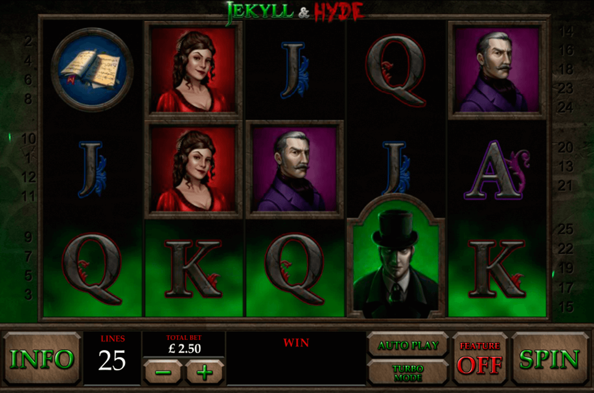 jekyll and hyde playtech casino slot spel